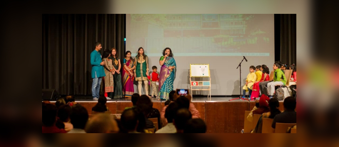 Marathi Katta Germany e.V. celebrated fifth Ganeshotsav festival on 8th Sept. Consul General Ms. Pratibha Parkar and Mr. Kerry Raddington were the Chief Guest to the event. On this occasion Ms. Parkar inaugurated the first Marathi School for children