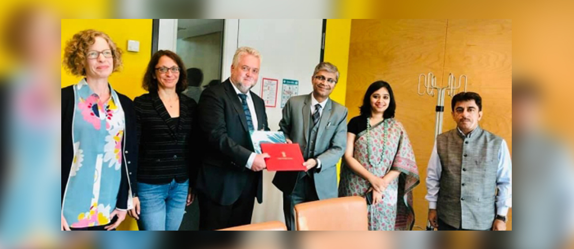 Promoting collaboration in traditional medicine sciences, Dr. Rajesh Kotecha, Secretary, Ministry of AYUSH, is on a five-day tour in Germany.