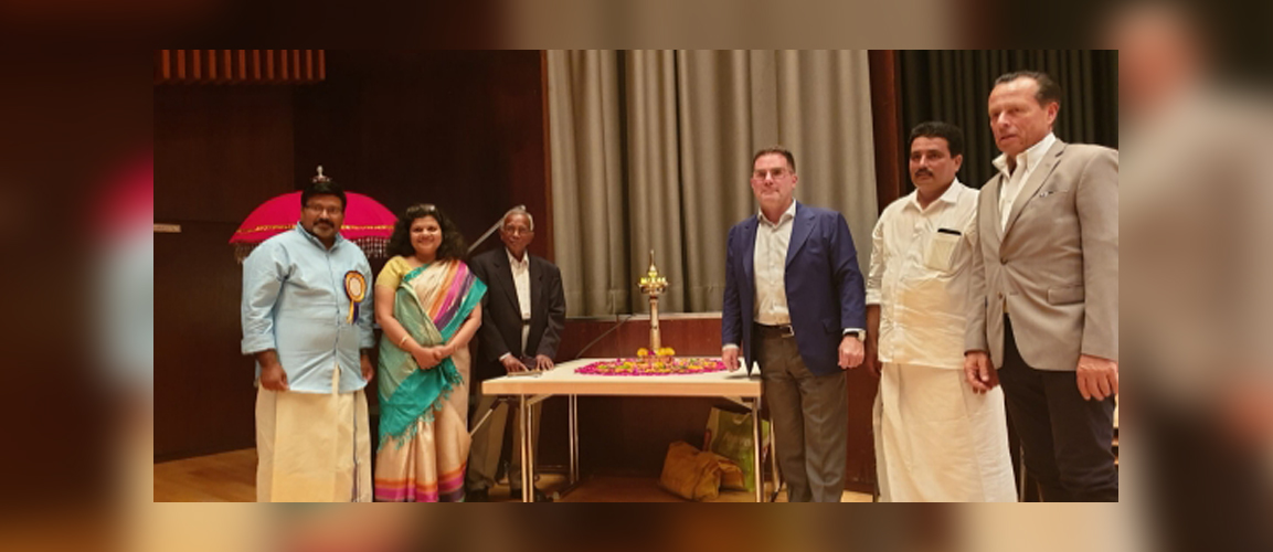 Consul General Ms. Pratibha Parkar delivered a speech on the occasion of Onam Festival celebration organized by the Cultural Association Kerala Samajam in Frankfurt.