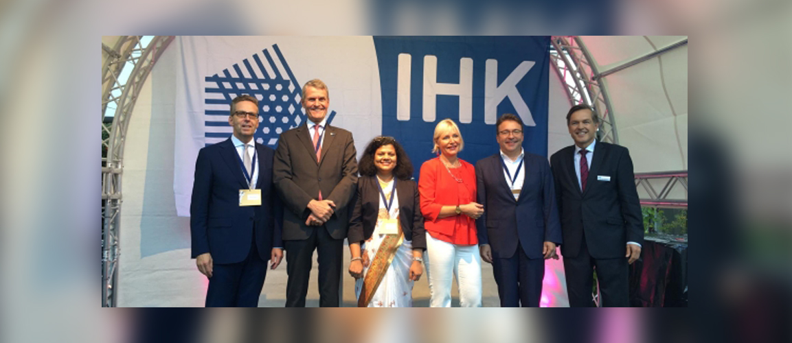 This year, India was the proud Partner country at IHK Darmstadt Sommerfest. Representing India at the event was Consul General Ms. Pratibha Parkar.