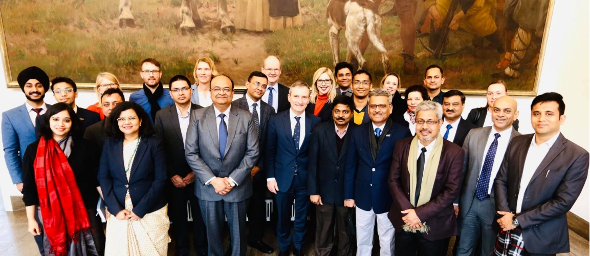 A 15-member delegation comprising representatives from government and private sectors visited Germany from 12-14 February 2020 to share experiences and approaches of India and Germany in the start-up sector.