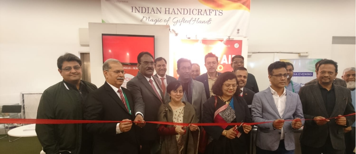 Consul General. Ms. Pratibha Parkar inaugurated the India Pavilion on 7th February 2020 at Ambiente 2020 held at Frankfurt Messe.