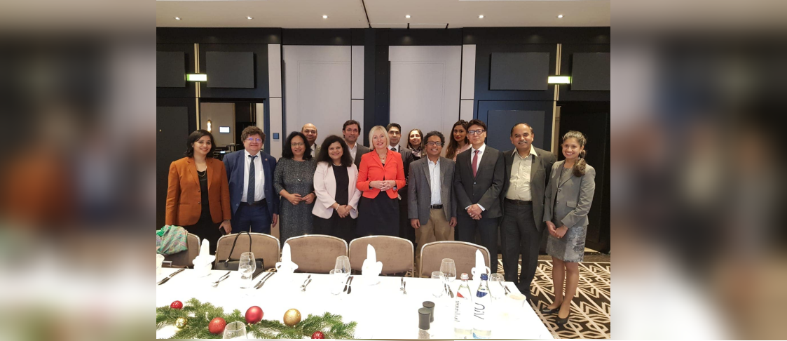 The last meeting for the year of India Business Forum's (IBF) Executive Committee on 18 December saw the presence of Prof Kristina Sinemus, Minister for Digitalisation for the state of Hessen.
