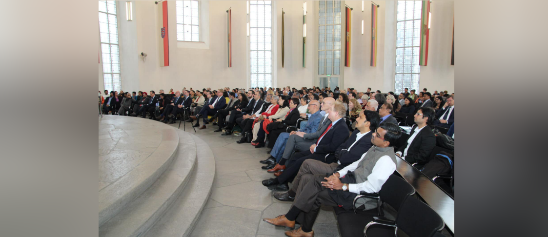 CGI, Frankfurt organized the celebrations of Gandhi Jayanti at the historic venue of St. Paul's Church in Frankfurt on 11 October 2019. The Vice Mayor of Frankfurt Mr. Jan Schneider graced the event as the Chief Guest.