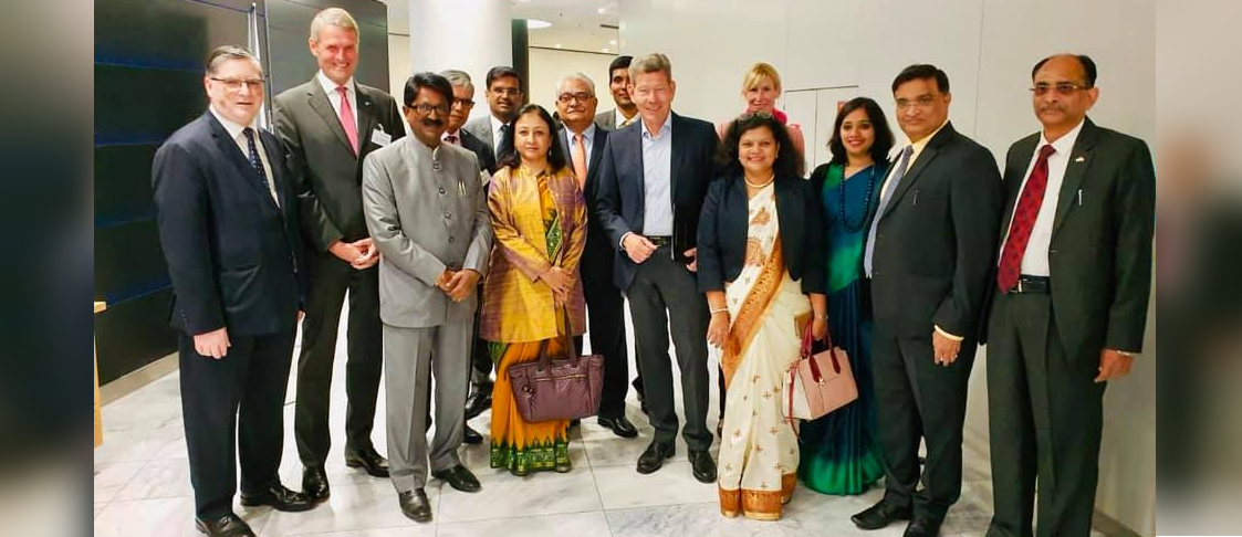 Mr. Arvind Sawant, Minister of Heavy Industries & Enterprises was the Chief Guest at the IAA-India-Day 2019 at Messe Frankfurt on 13 September 2019.
